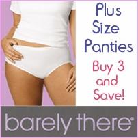 Buy Three and Save on Plus-Size Panties